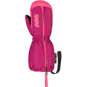 Reusch Tom Mittens Toddler fuchsia purple/knockout pink